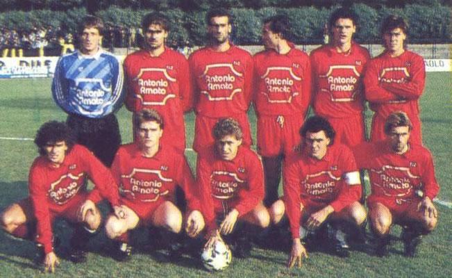 Formazione Salernitana 1988 - 1989