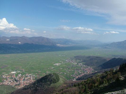 Panorama del Vallo di Diano