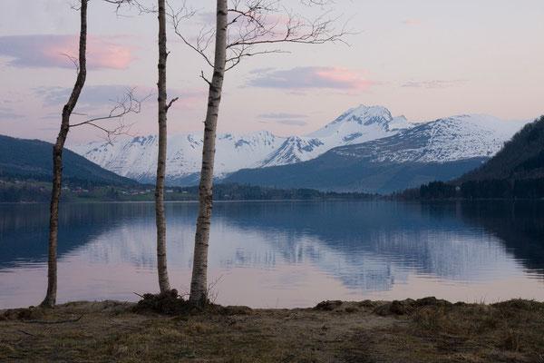 Vatnevatnet, Saudehornet, Sunnmørsalpane, Norwegen