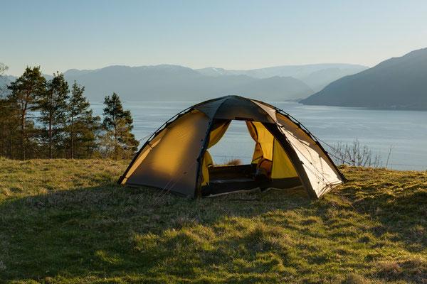 Teigen, Kvinnheradsfjorden, Hordaland, Norwegen