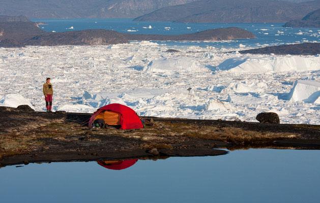 Kangia - Camp am Eisfjord