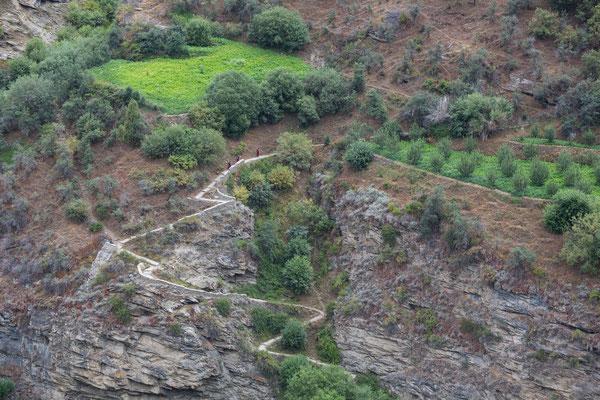 Aufstieg nach Khardang