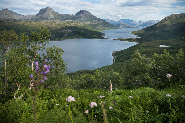 Nevelsfjorden, Abstieg vom Novaskaret