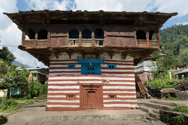 Tempel, Old Manali