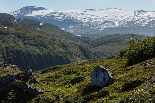 Evendalen und Høgtuvbreen