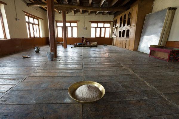 Arbeitssaal, Kloster Karsha, Zanskar, Indien