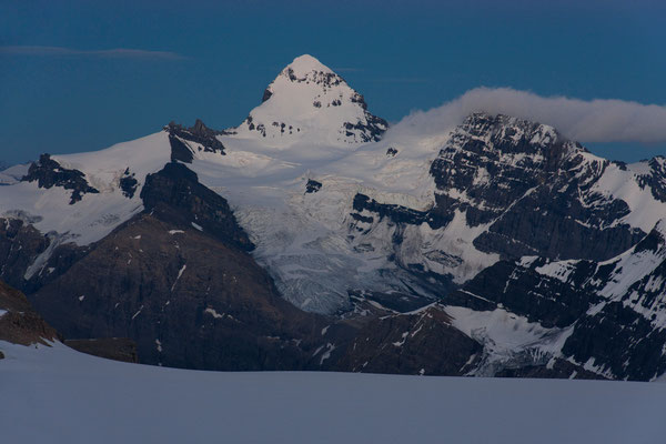 Mount Forbes from Lyell-Icefield