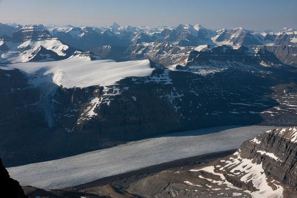 Saskatchewan-Glacier from Mt Athabasca