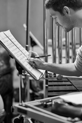 bei der Arbeit - Orchester