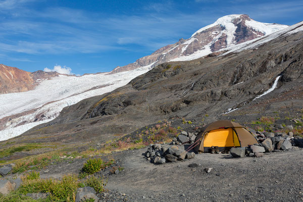 Mt Baker, Hogsback-Camp (2015)