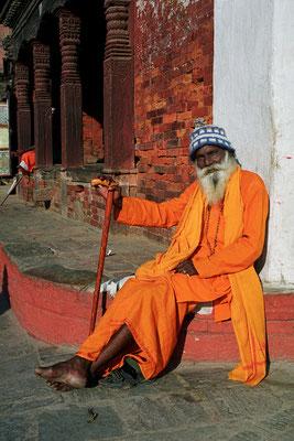 Baba Y. J. Kantharao, Pilger, Kathmandu, Nepal