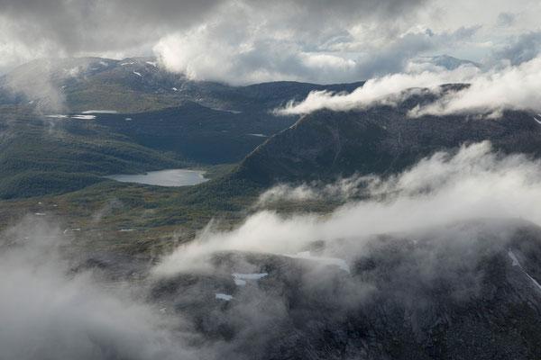 Kjerkkvannfjellet vom Lurfjelltinden