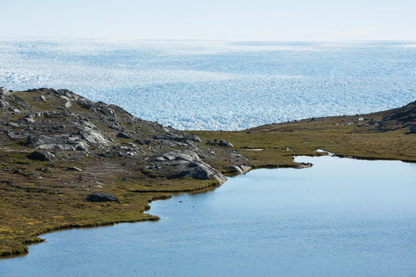 Kangiata Nunaata Sermia, Inlandeis, Grönland