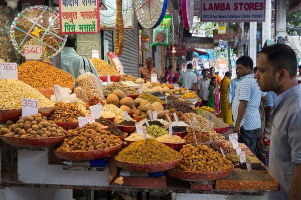 Gewürzmarkt, Old-Delhi, Indien