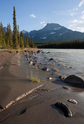 Athabasca River, Jasper-NP, Kanada