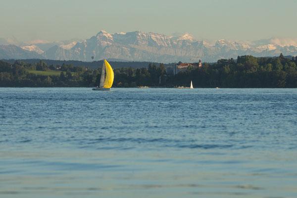 Überlinger See mit Glärnisch