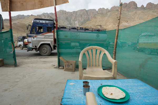 Khangral, Raststätte Srinagar-Leh Highway