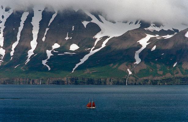 Eyjafjörður, Island