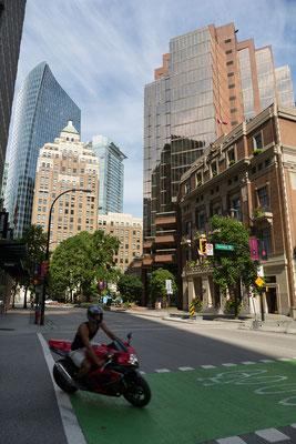 Vancouver, MNP Tower, Marine Building, HSBC Bank