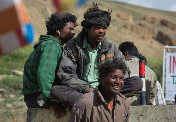 tamilische Gastarbeiter in Kibber