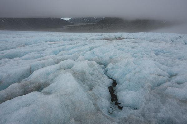 Kaarali-Gletscher mit Tuno