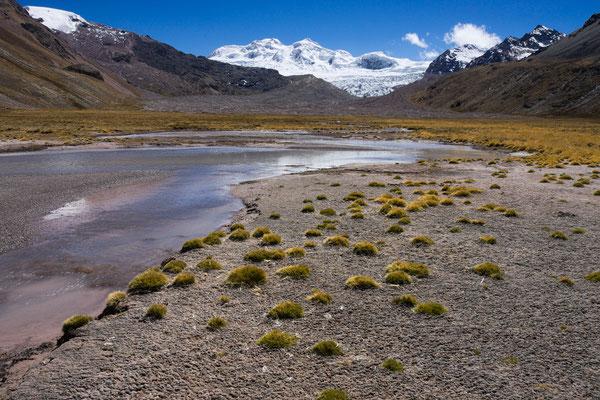 Quebrada Puca Orjo und Jatunriti, Vilcanota, Peru