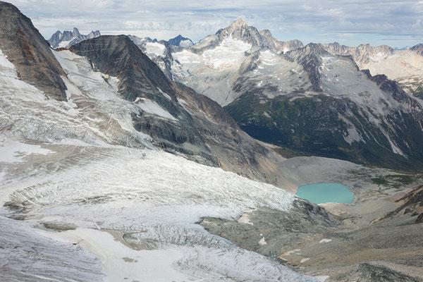 Siva Glacier, Septentrion Spires, Mt Astarte