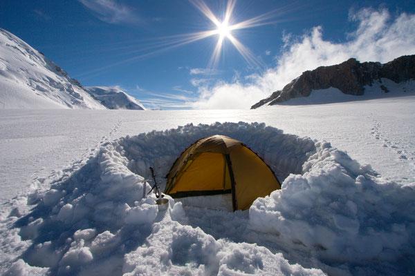 Col du Midi, Mont Blanc, Frankreich