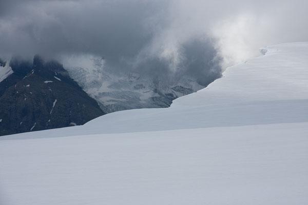 Lyell Icefield 1, Rocky Mountains, Alberta, Kanada