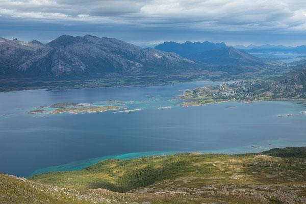 Leinesfjorden und Botnfjorden (Steigen)
