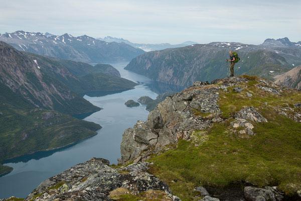 Kvannlikrona mit Nordfjord