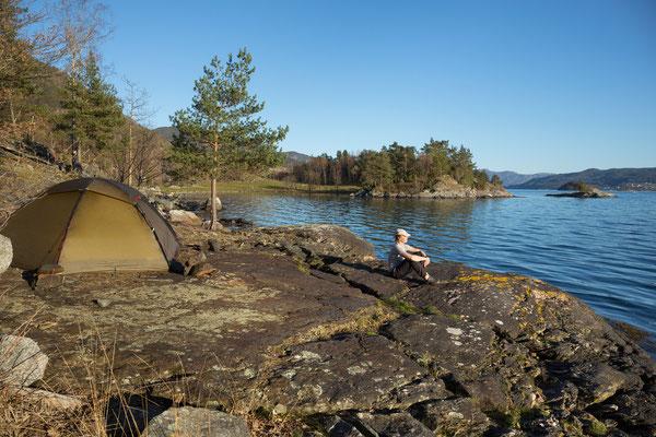 Valøya, Høylandssundet, Hordaland, Norwegen