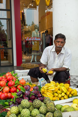 Händler am Connaught Place, Delhi, Indien