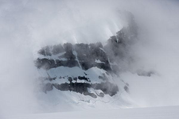 Christian Peak 2, Lyell Icefield, Rocky Mountains, Alberta, Kanada
