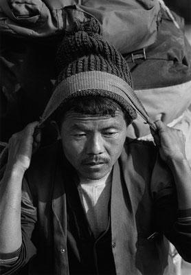 Shyam B. Gunula, Träger aus Rasuwa, Nepal