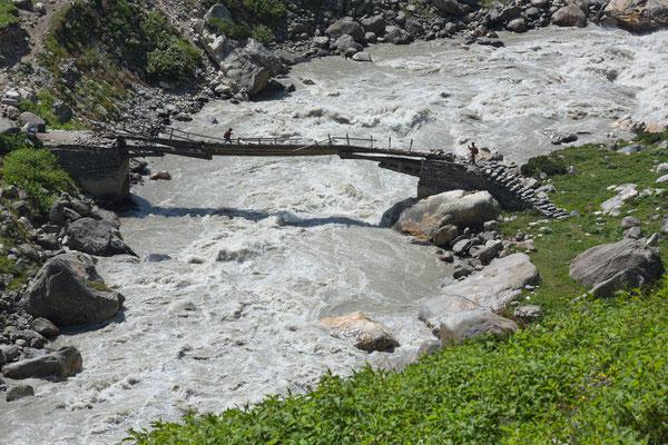 Brücke bei Thunda Bhoj, Parvati