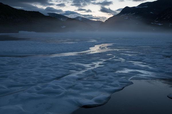Øvre Pikhaugvatnet, Svartisen NP