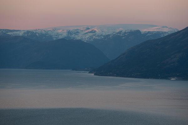 Folgefon, Kvinnheradsfjord