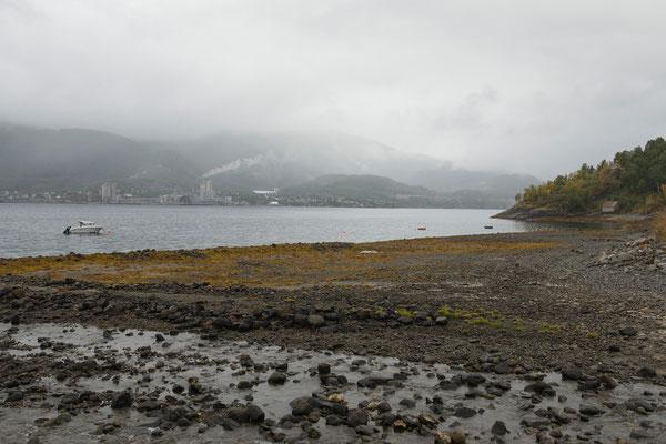 Kjøpsvik am Tysfjorden