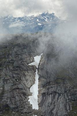 Kjerring am Lurfjelltinden