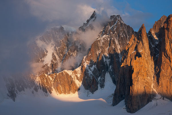 Cirque Maudit, Mont Blanc, Frankreich