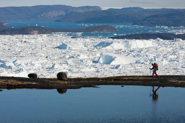 Kangia - Trekking am Eisfjord