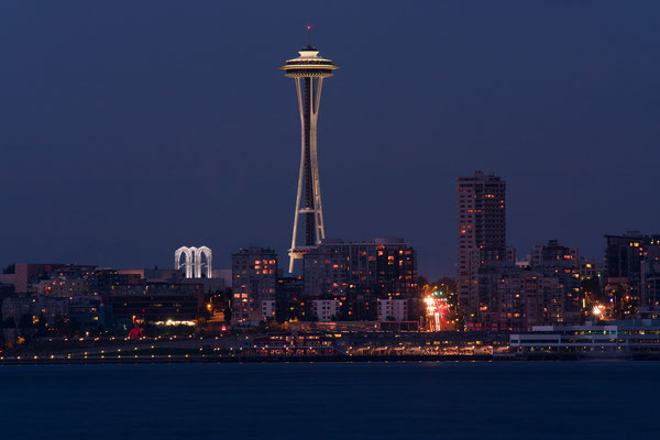 Seattle, Skyline with Space Needle