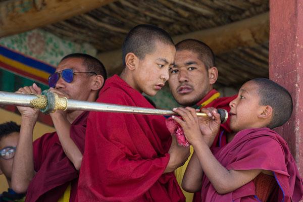 Unterricht, Kloster Karsha