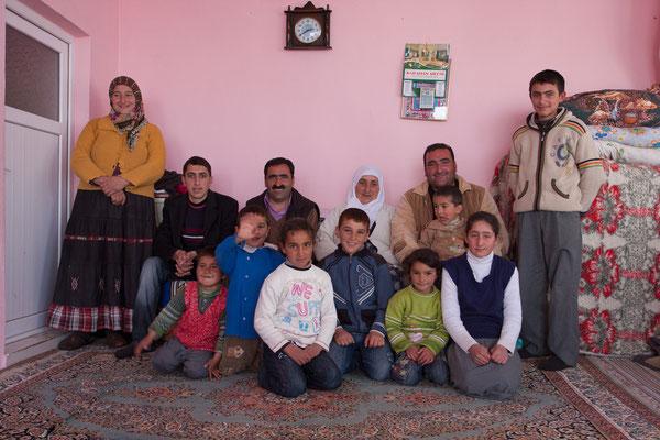 Familie Kayar, Harmantepe, Türkei