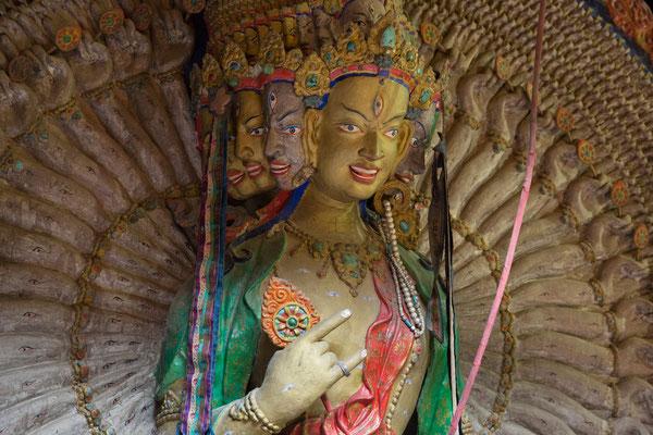 Leh, Bodisattva Sitatapatra im Palast