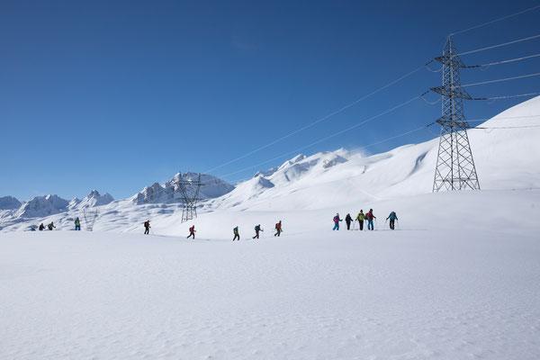 Passo San Giacomo mit Val Toggia