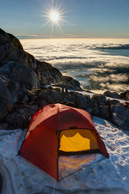 Camp am Store Marlene mit Nuuk