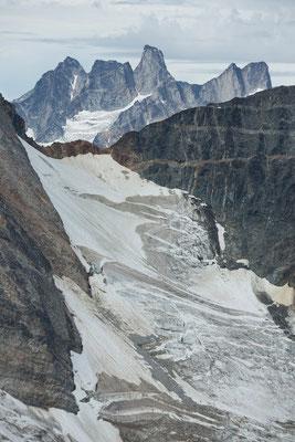Siva Glacier, Septentrion Spires