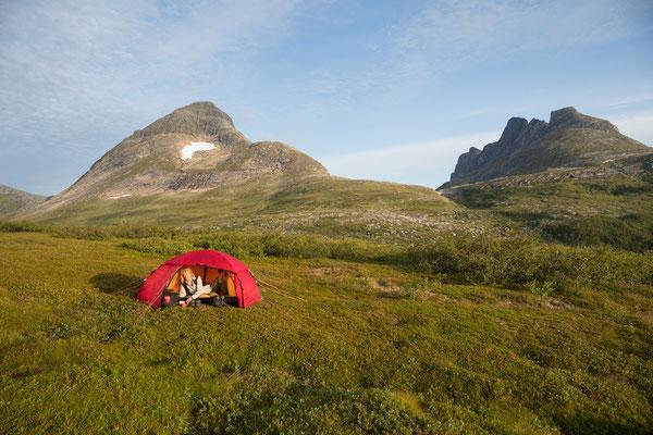 Skjellingsdalen, Lurfjell, Nordland, Norwegen